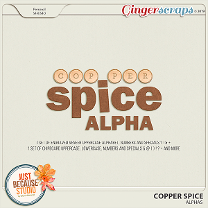 Copper Spice Alphas by JB Studio