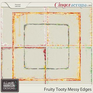 Fruity Tooty Messy Edges by Aimee Harrison