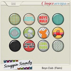 Boys Club Flairs