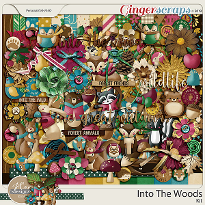 Into The Woods by JoCee Designs