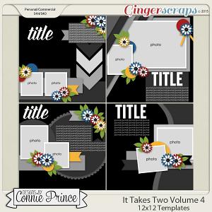 It Takes Two Volume 4 - 12x12 Temps (CU Ok)