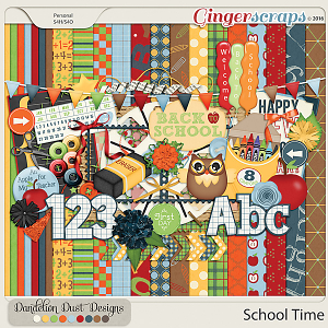 School Time By Dandelion Dust Designs