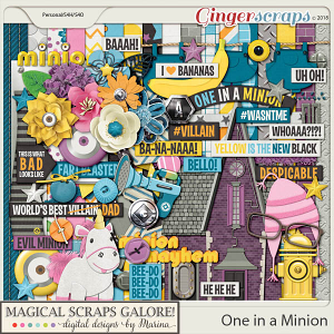 One in a Minion (page kit)