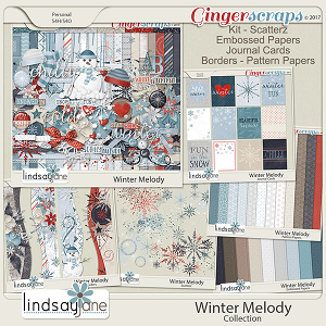 Winter Melody Collection by Lindsay Jane