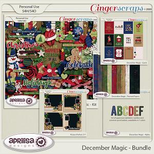December Magic - Bundle by Aprilisa Designs