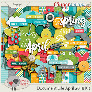 Document Life April 2018 Kit by Luv Ewe Designs