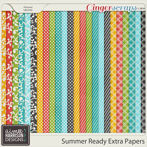Summer Ready Extra Papers by Aimee Harrison