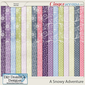 A Snowy Adventure {Extra Papers} by Day Dreams 'n Designs