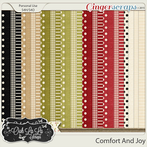 Comfort And Joy Pattern Papers