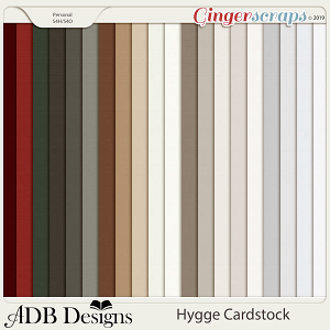 Hygge Solid Papers by ADB Designs