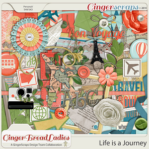 GingerBread Ladies Collab: Life Is A Journey
