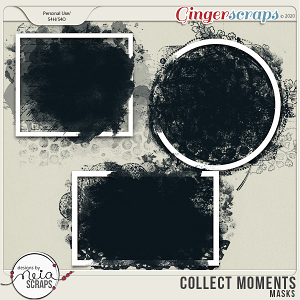Collect Moments - Masks - by Neia Scraps