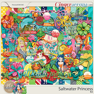 Saltwater Princess Kit by JoCee Designs