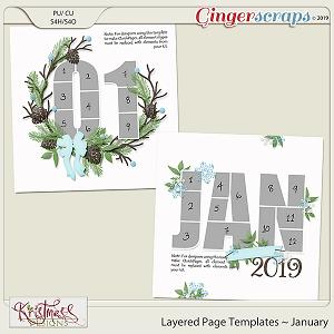 Layered Page Templates ~ January