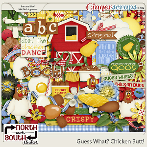 Guess What? Chicken Butt! Kit by North Meets South Studios