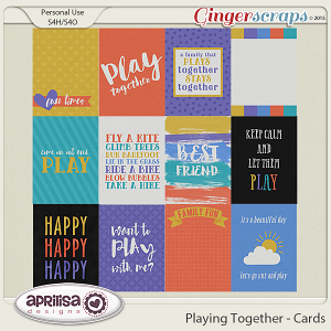 Playing Together - Cards