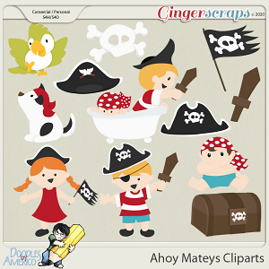 Doodles By Americo: Ahoy Mateys Cliparts