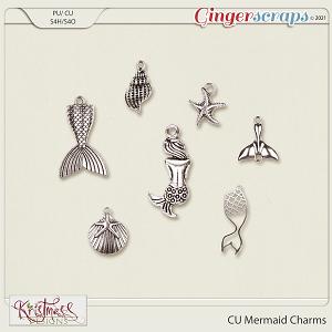 CU Mermaid Charms