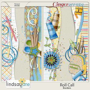 Roll Call Borders by Lindsay Jane