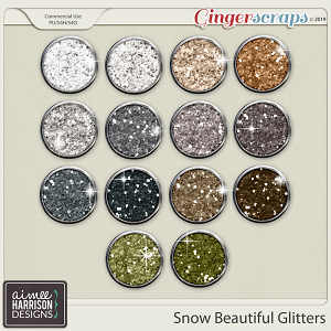 Snow Beautiful Glitters by Aimee Harrison