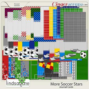 More Soccer Stars Journal Cards by Lindsay Jane