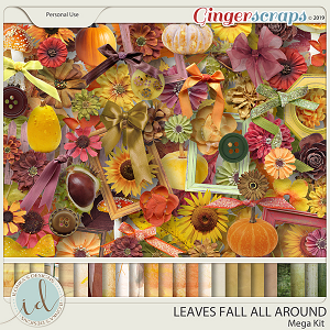 Leaves Fall All Around Mega Kit by Ilonka's Designs