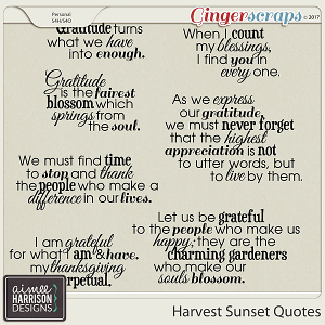 Harvest Sunset Inspirational Quotes