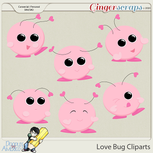 Doodles By Americo: Love Bug Cliparts