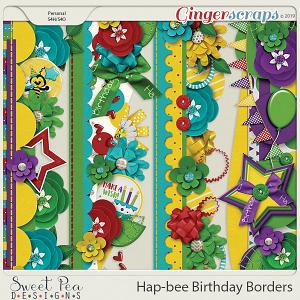 Hap-Bee Birthday Borders