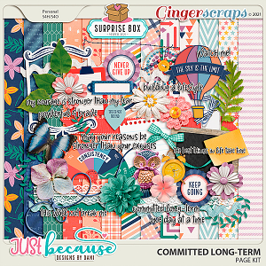 Committed Long-Term Page Kit by JB Studio