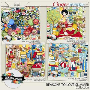 Reasons to Love Summer - Bundle by Lisa Rosa Designs