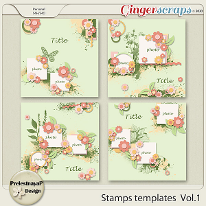 Stamps templates Vol.1