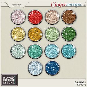 Grands Glitters by Aimee Harrison