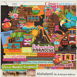 Alohaland Tiki & Volcano Add-On Pack by Clever Monkey Graphics