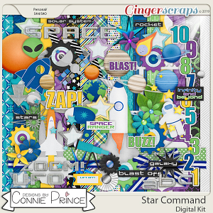 Star Command - Kit by Connie Prince