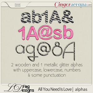 All You Need Is Love: Alphas by LDragDesigns