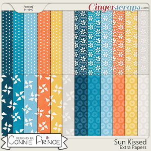 Sun Kissed - Extra Papers by Connie Prince