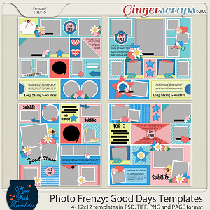 Photo Frenzy: Good Day Templates by Miss Fish