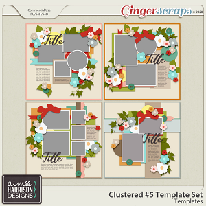 Clustered #5 Templates by Aimee Harrison