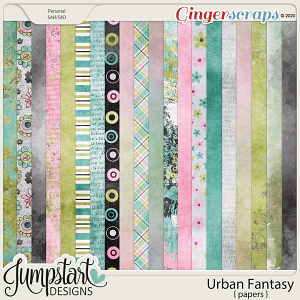 Urban Fantasy {Papers} by Jumpstart Designs