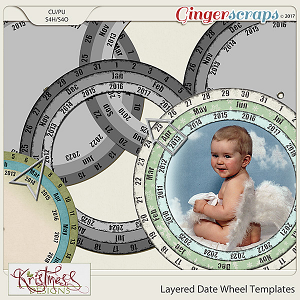 CU Layered Date Wheel Templates