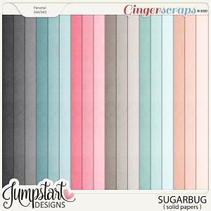 Sugarbug {Solid Papers} by Jumpstart Designs