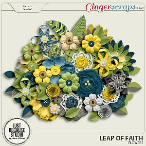 Leap Of Faith Flowers by JB Studio
