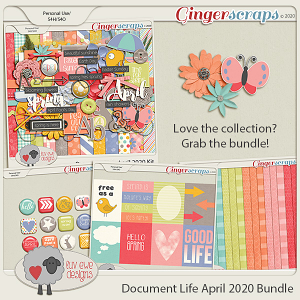 Document Life April 2020 Bundle by Luv Ewe Designs