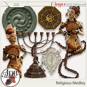 Heritage Resource - Religious Medley by ADB Designs