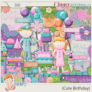 Cute Birthday Page Kit