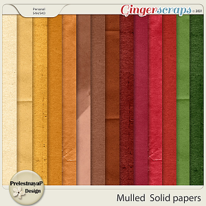 Mulled Solid papers