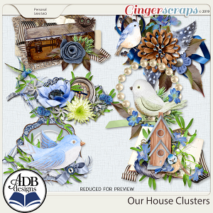 Our House Clusters by ADB Designs