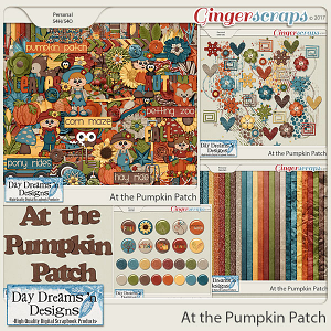 At the Pumpkin Patch {Bundle Collection} by Day Dreams 'n Designs