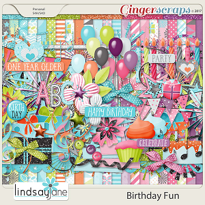 Birthday Fun by Lindsay Jane